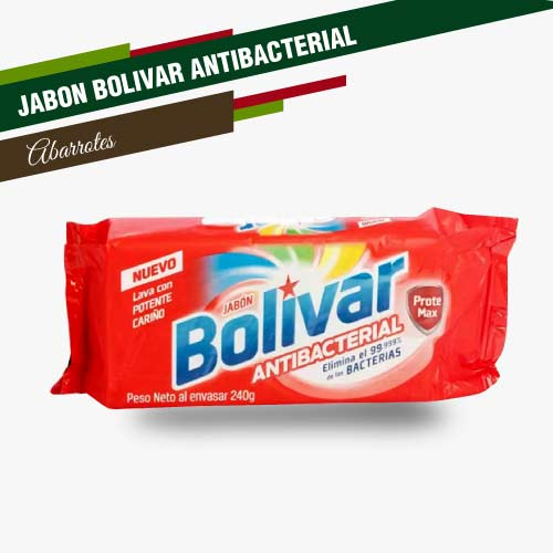 JABÓN BOLÍVAR ANTIBACTERIAL