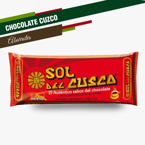 CHOCOLATE SOL DE CUZCO