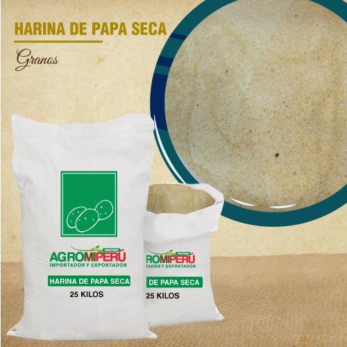 HARINA DE PAPA SECA